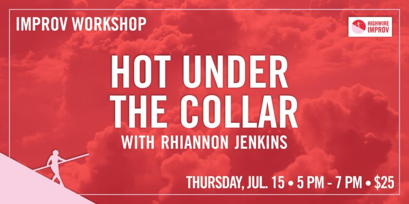 Hot Under The Collar with Rhiannon Jenkins