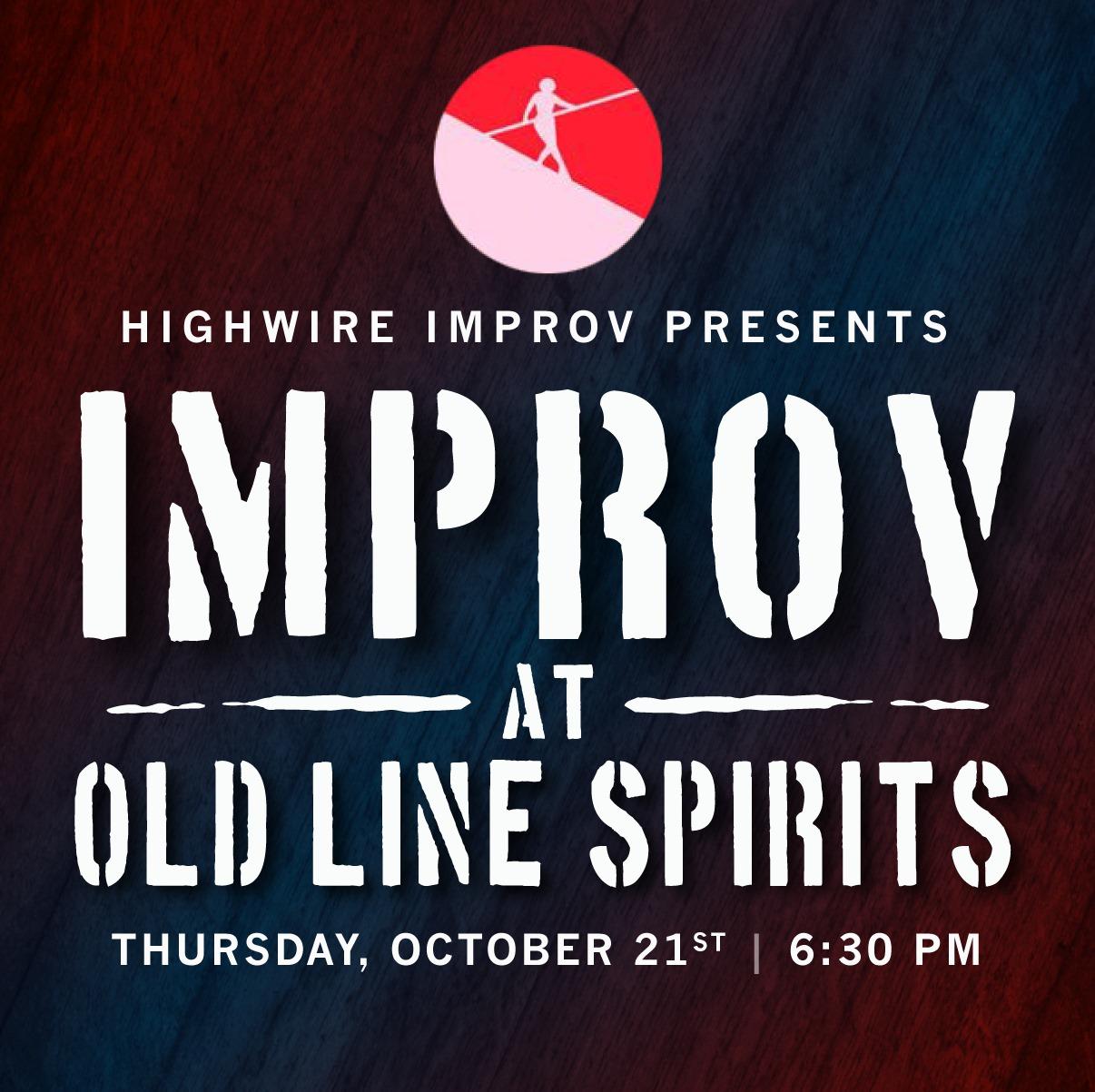 Highwire Presents: Improv at Old Line