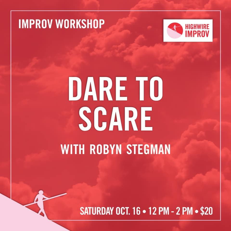 Dare to Scare with Robyn Stegman