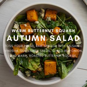 autum salad