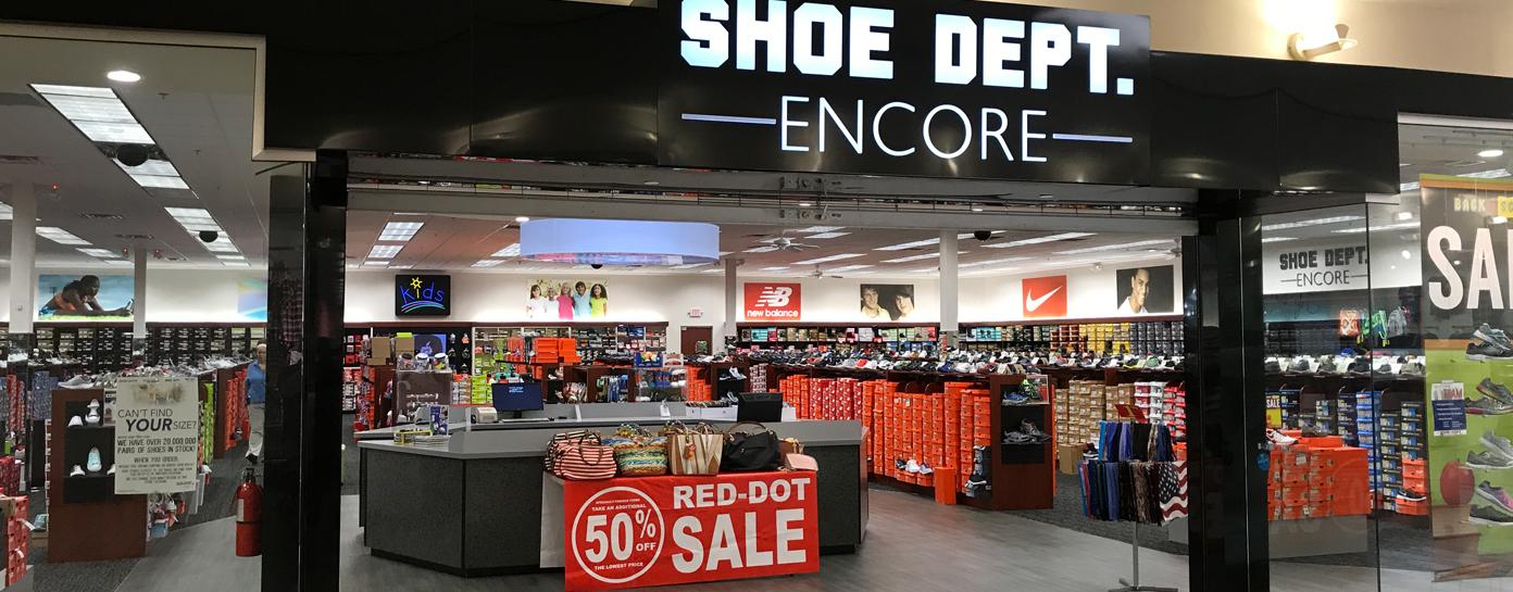 shoe dept sales