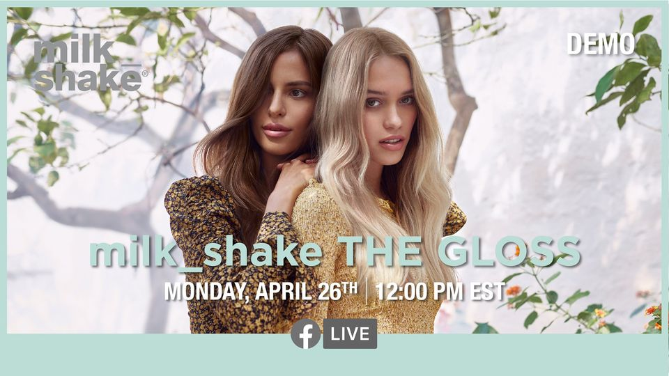 milk_shake the gloss - new milkshake hair gloss color