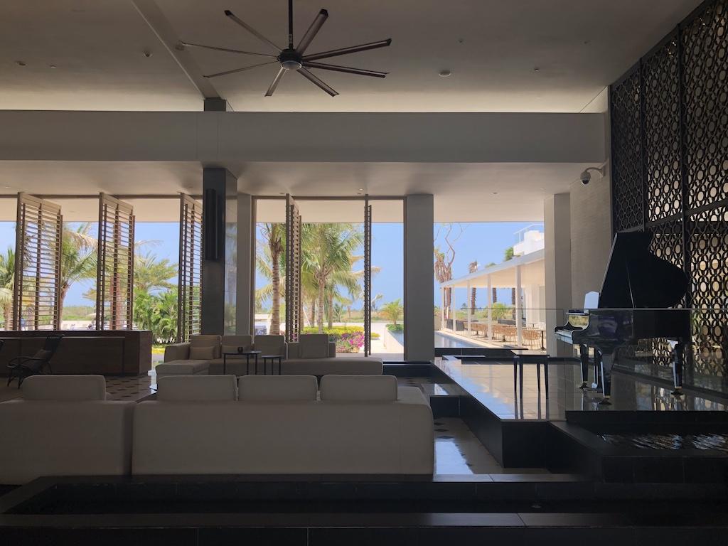 Conrad Hotel lobby Cartagena Colombia