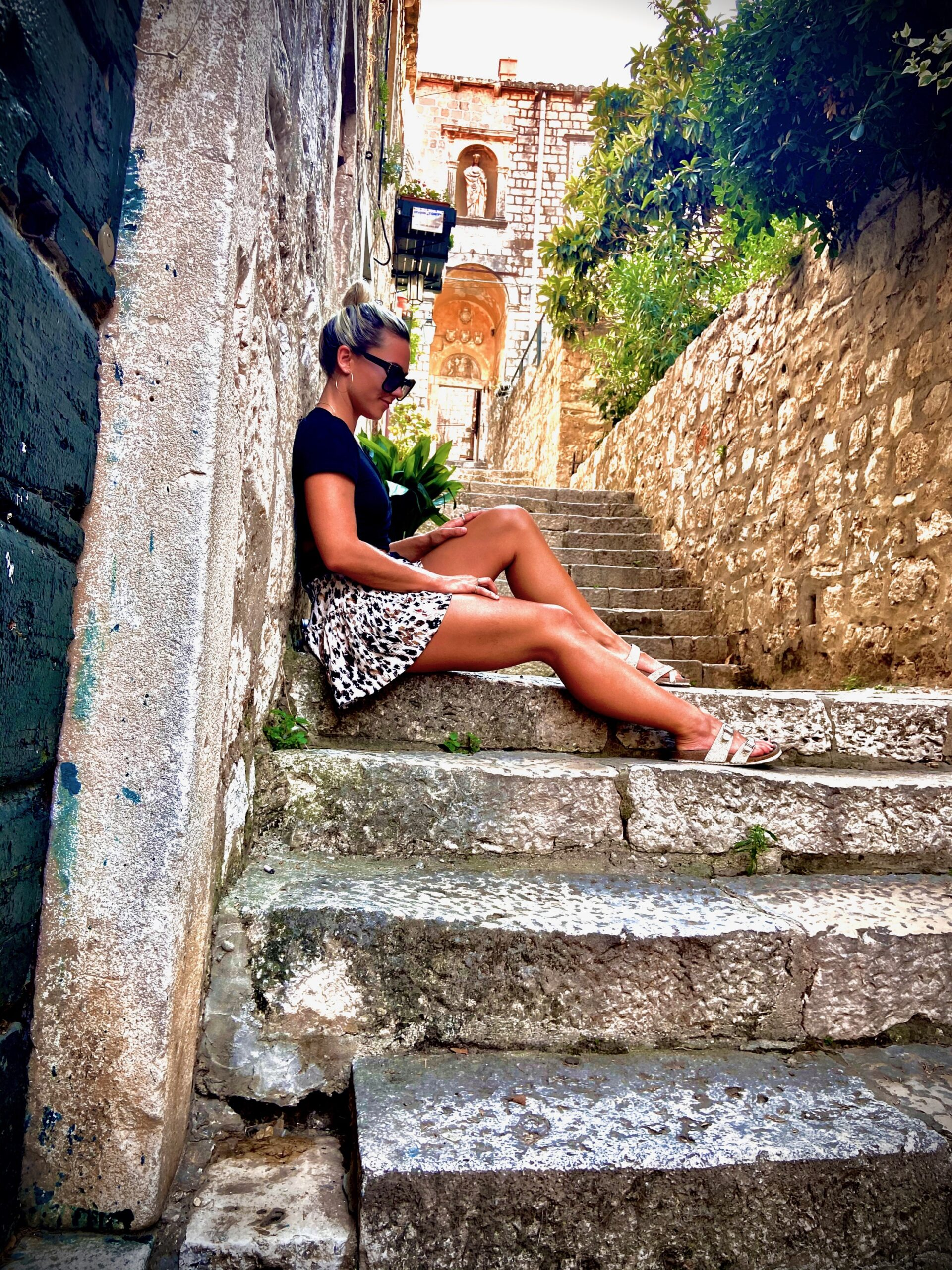 Empty streets of Croatia