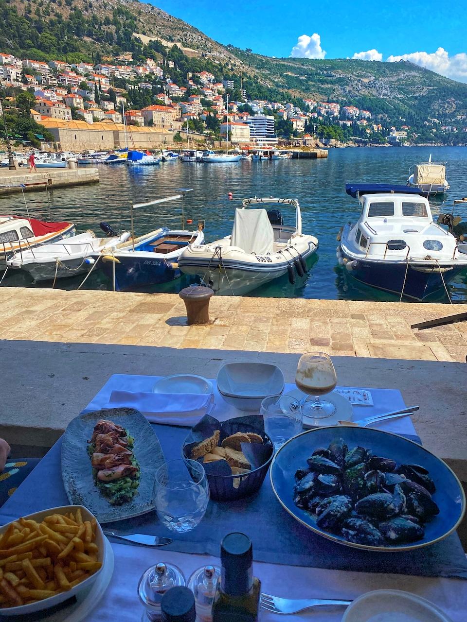 Quaint Restaurant in Dubrovnik