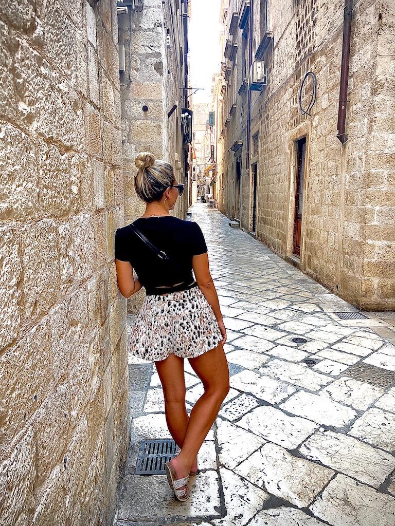 Empty streets of Dubrovnik