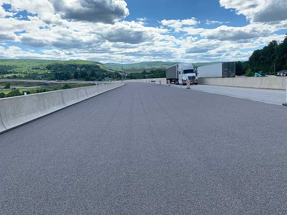 Alpha Stone High friction surface treatment (HFST) Installation