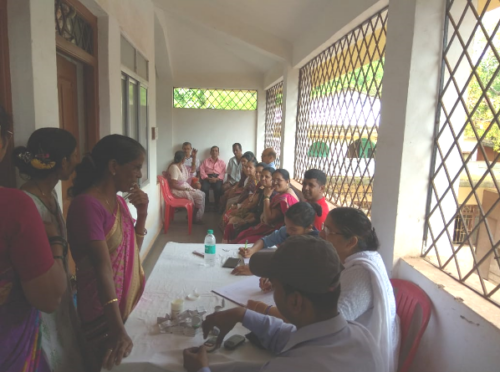 Medical Camp organized by V.P. in 2018