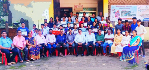 Programme conducted on the occassion of Swachhata Hi seva 2019
