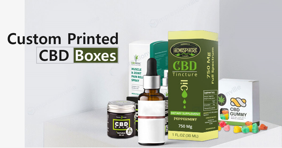 How CBD Display Boxes are Useful for Brand Prominence