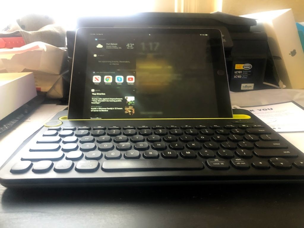 logitech k480 with ipad
