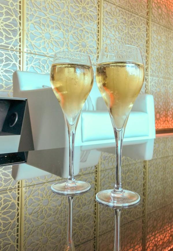 amex Centurion champagne