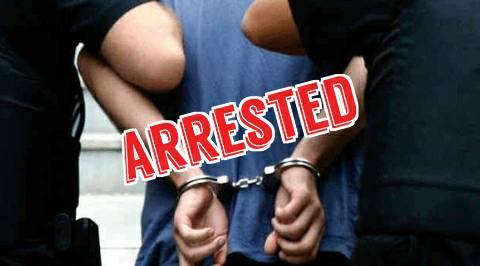 हंगामे की सूचना पर पहुंची पुलिस पर नशे में धुत युवक ने की रोडे़बाजी, गिरफ्तार