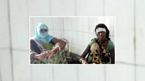 नाद साफ करने को लेकर दो पक्षों भिडें-दो महिला समेत पांच जख्मी