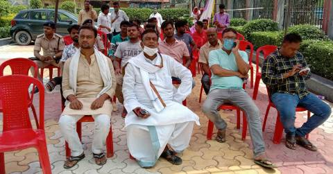 Virtual-rally-Radhacharan-sah