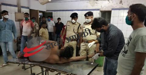 Gausganj-encounter-ara-police-criminal-injured