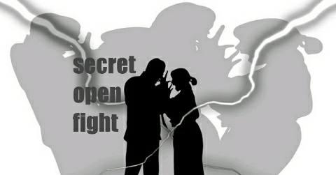 secret-open-fight-एक-दूसरे के भेद खोलने का लांछन लगा आपस में उलझे पति-पत्नी