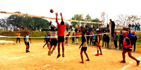 Kharouni defeated Billouti in the final of Volleyball