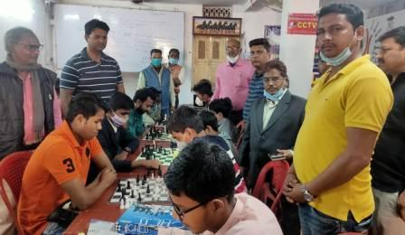 Inauguration of Bhojpur District Open Chess Competition