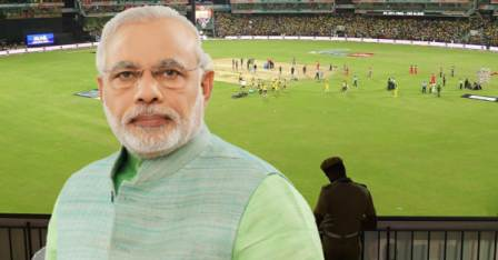 PM Narendra Modi-Motera stadium