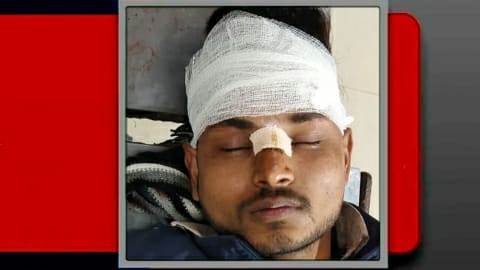 student injured-Brick thrown on train in Ara