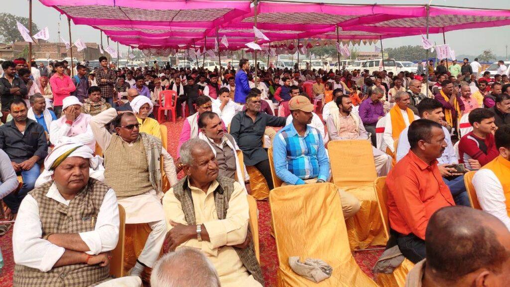 Visheshwar Ojha : भाजपा के दिवंगत नेता विशेश्वर ओझा की पांचवी पुण्यतिथि पर रक्तदान शिविर आयोजित