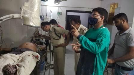 Anand Nagar Ara shot-man injured