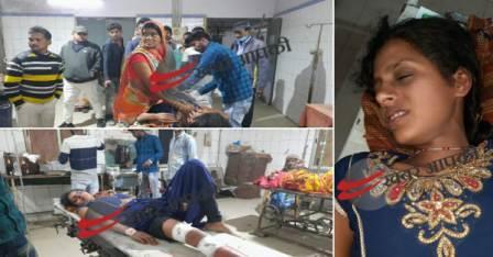 Badhra Woman shot