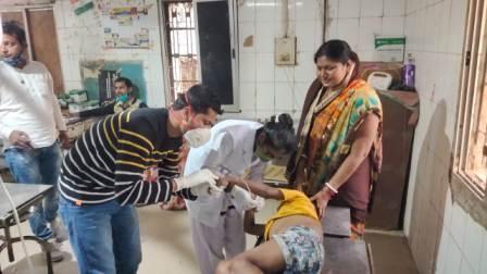 Child Shot in Asni
