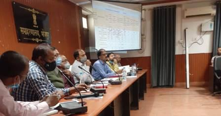 DM reviewed the works of Health Department
