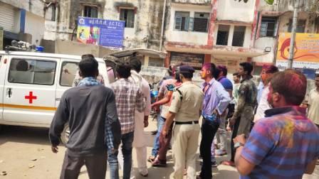 Four injured in Ara