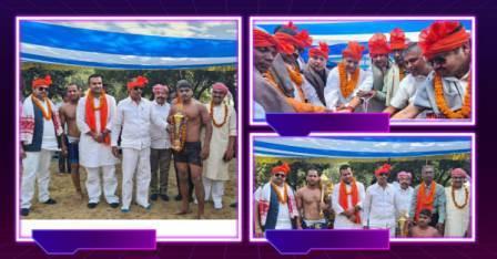 Ganghar-wrestling