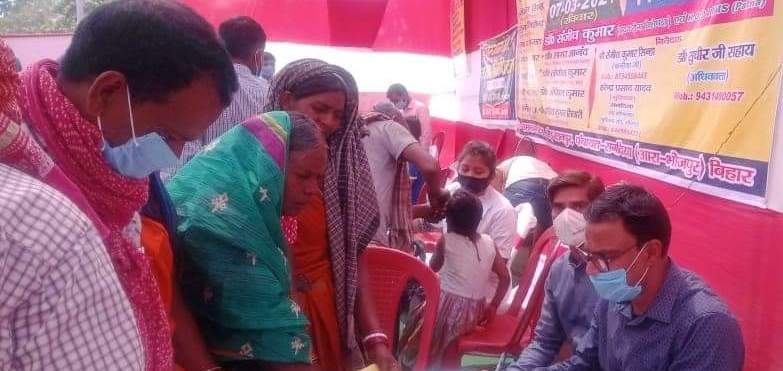 Health camp-Ratanpur
