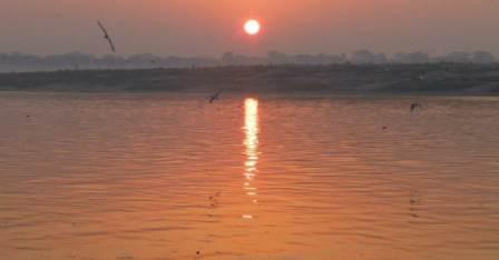 Majhauli Ganga Ghat