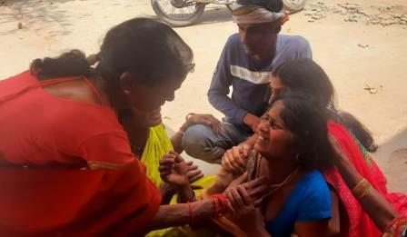 Bhairav Tola -woman sad