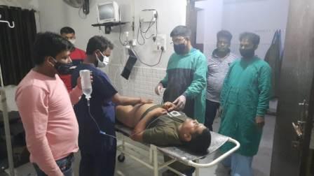Bullet Injured young man - Dr Vikas