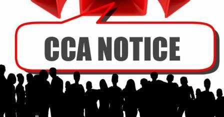 CCA Notice in Bhojpur
