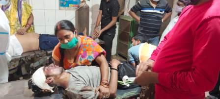Driver injured-Kasap village