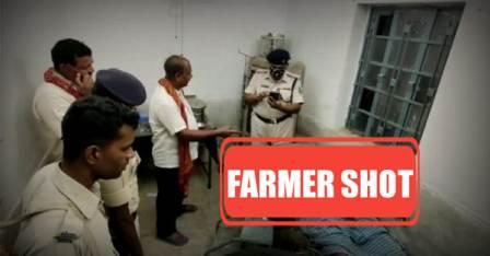 Farmer shot dead in Searua
