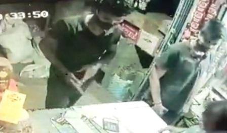 Looting and firing at Ara General Store