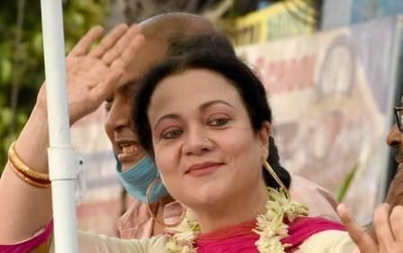 Mandakini in Bengal elections 2021