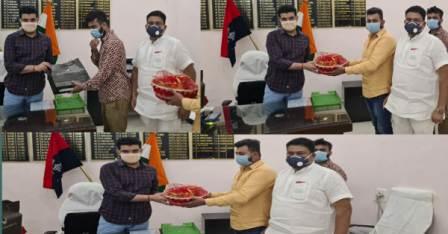 SP Har Kishore Rai's farewell cum honor ceremony