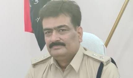 SP Rakesh Kumar Dubey