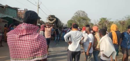 Saraiya village-Accident