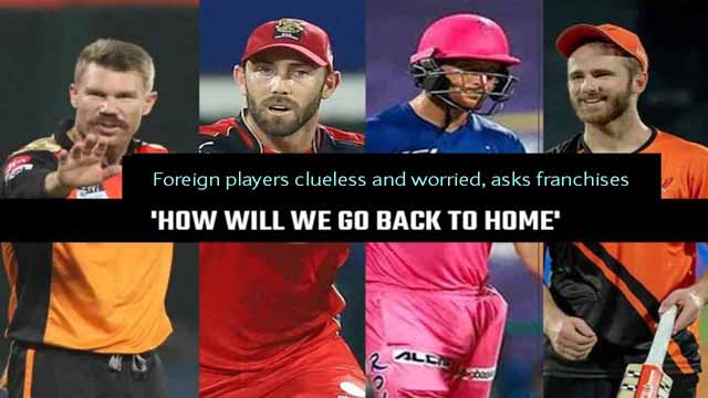 IPL 2021 Foreign Players