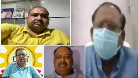 Bihar Agriculture Minister Amarendra Pratap Singh - Virtual meeting with CAIT businessmen