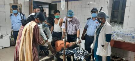 Ara city-Abhisek injured