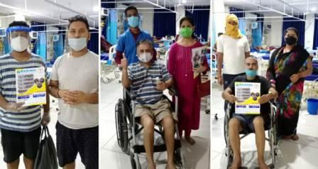 Corona winner-आरा में कोरोना विजेता बने पांच मरीज