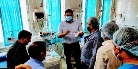 ICU ARA-भोजपुर जिले के लोगों के लिए शनिवार की एक राहत भरी एवं अच्छी खबर आई।