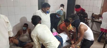 Krishnagadh Bike accident